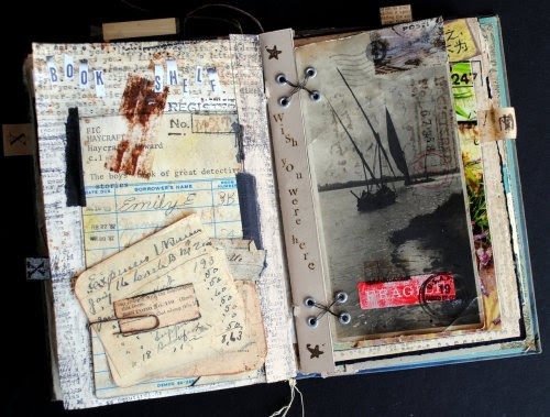 curiositycontained:  Memoire Artist Book Seth Apter