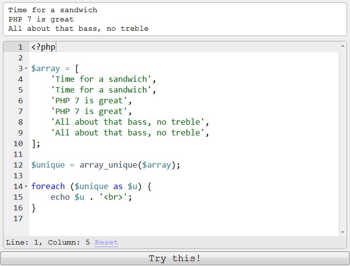array_unique_php_debug_console