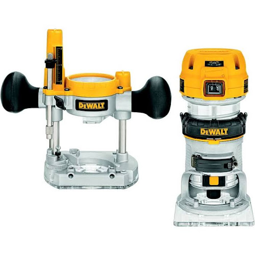 DEWALT - 1.25 HP MAX Torque Variable Speed Compact Router with LED's