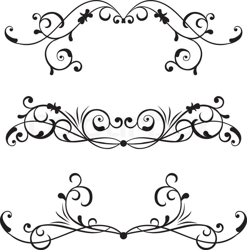 Scrollwork 0 Images About Scrolls S On Scroll Design Clip Clipart