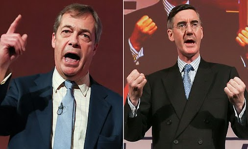 'Politicians will betray us': Nigel Farage tells pro-Brexit rally