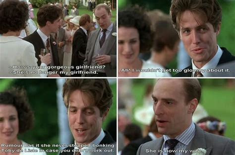 Four Weddings and a Funeral   Best movie quotes! in 2019