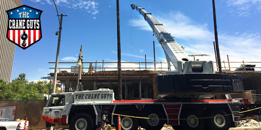 Certified Crane Service Including Rigging Personnel & Flatbed Hauling