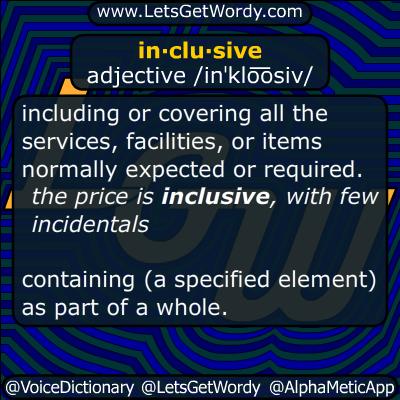 inclusive 04/26/2016 GFX Definition