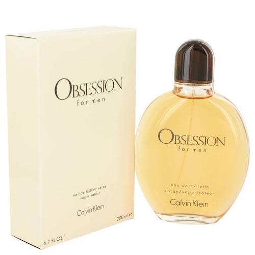 Calvin Klein Obsession EDT Cologne Spray, Men's - 6.7 fl oz bottle