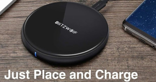 20% off BlitzWolf Compatible 5W Wireless Charger | Android News & All the Bytes - Mobile, Gadgets & Tech Reviews