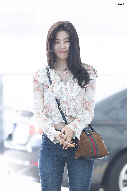 레드벨벳 슬기 슬렌더핏 | 인스티즈