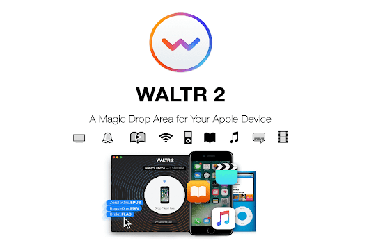 Easily Drag and Drop Music, Videos, eBooks & More to any Apple Device with WALTR 2 - only $19!
