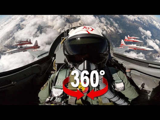Fighter Jet Patrouille Suisse 360° Experience - KlipStory