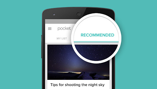 Introducing Recommendations: The Most Interesting Articles and Videos You Might Have Missed «  Pocket Blog