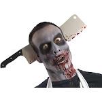 Zombie Cleaver Thru Head
