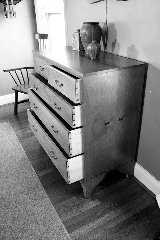 Joiner and Cabinetmaker Chest of Drawers by hand – Day 1