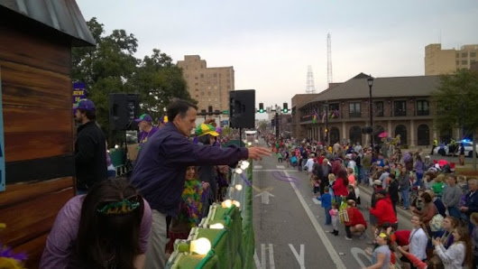 """Throw Me Something, Mister"": A Guide to Mardi Gras in Lake Charles, LA - Just Short of Crazy"