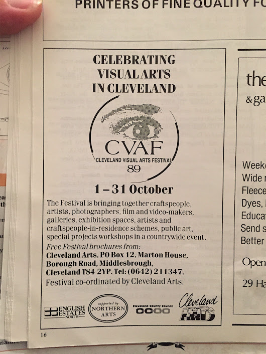 Remember When: CVAF '89 - Tees Valley Arts