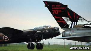 Lancaster and 617 Tornado