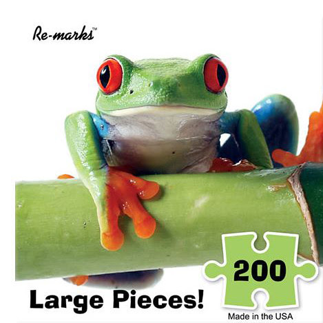 Frog Puzzle by Megan Lorenz