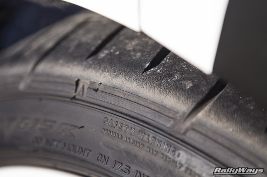 Spotting Heat-Cycled Tires Easily - RallyWays