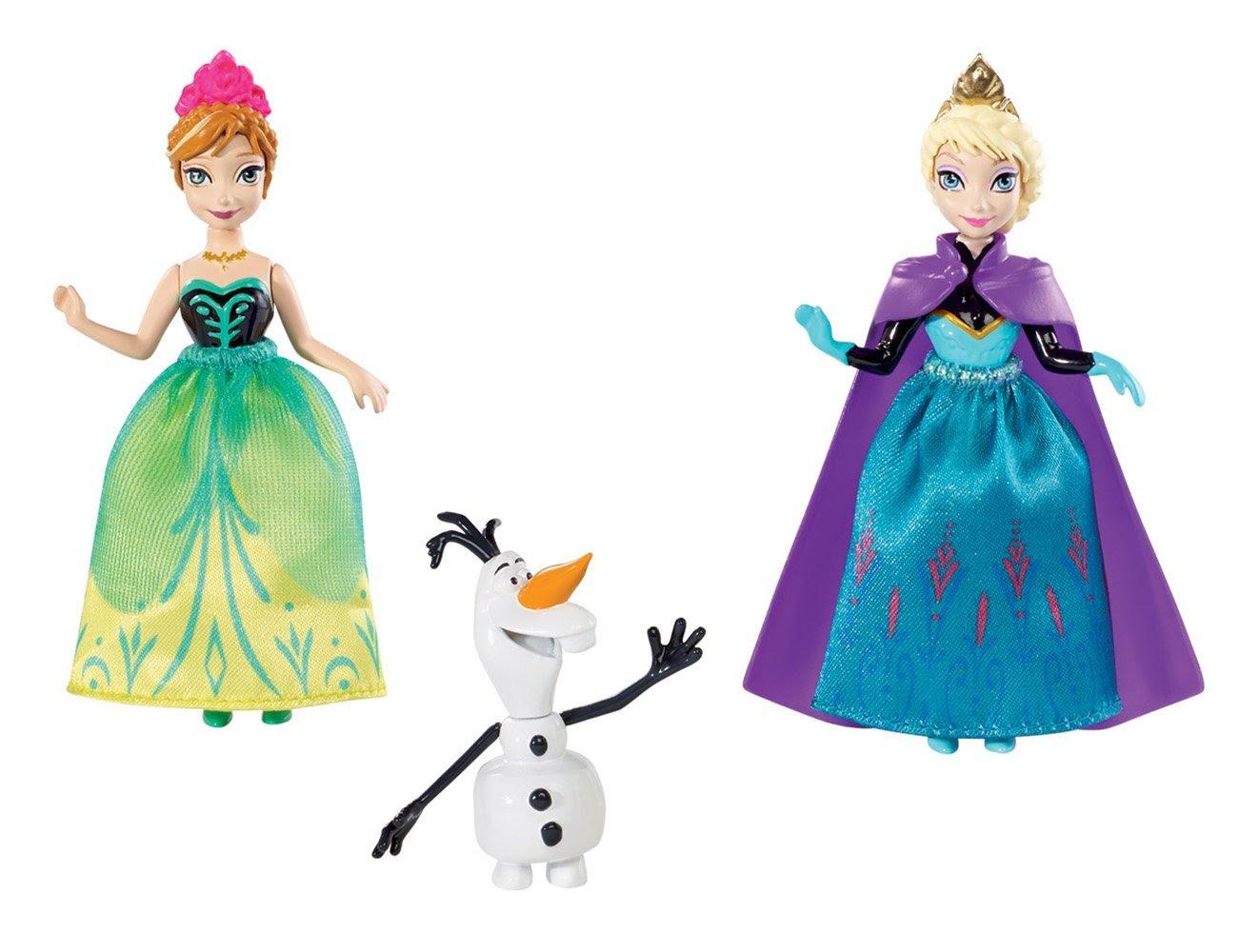 Anna And Elsa Mini Anak Patung Frozen Foto Fanpop