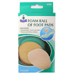 Oppo Foam Ball Of Foot Pads, 6080 - 1 Pair