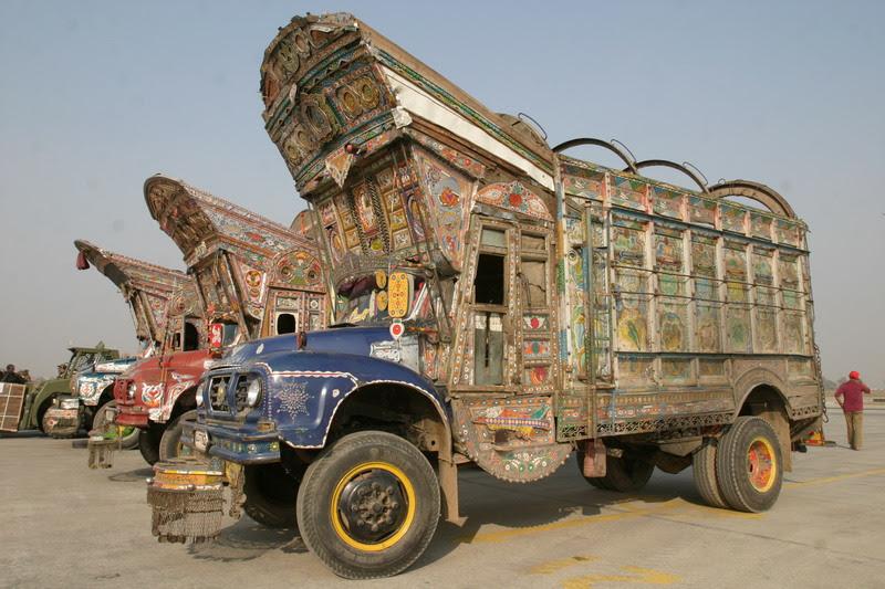 pakistán camión barroco
