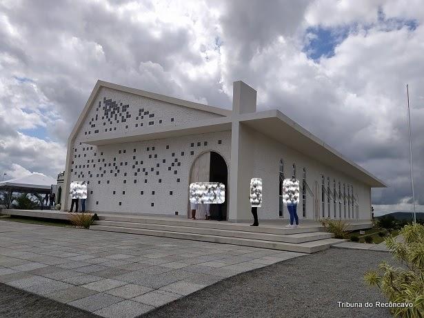 Capela e Memorial em homenagem a Santa Dulce foram inaugurados nesse domingo