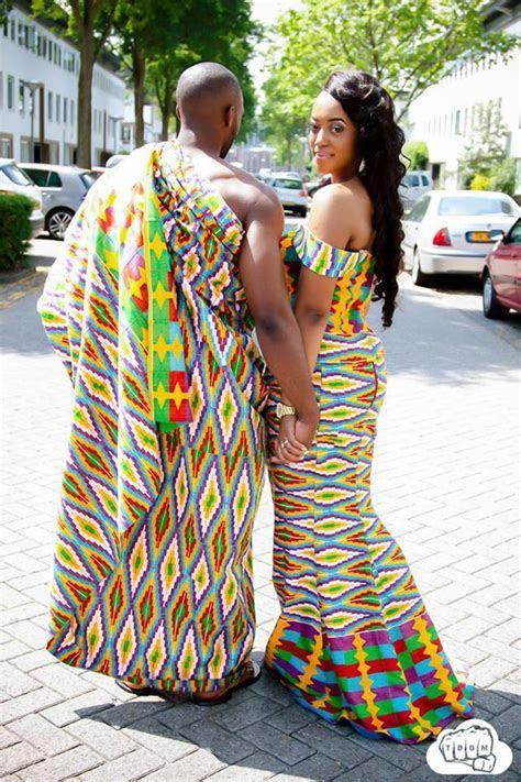 Hot Shots: Mr & Mrs Opoku?s Amazing Kente Pre Wedding