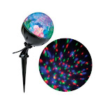 FunFlags LED Confetti Light Show Projector Multicolored (Pack of 12)