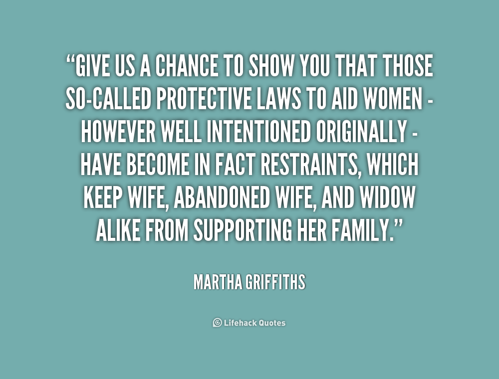 Quotes About Give It A Chance 75 Quotes