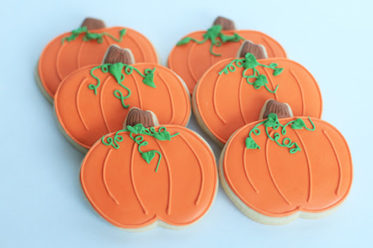 Halloween Cookies- Pumpkins, Skeletons, and Owls