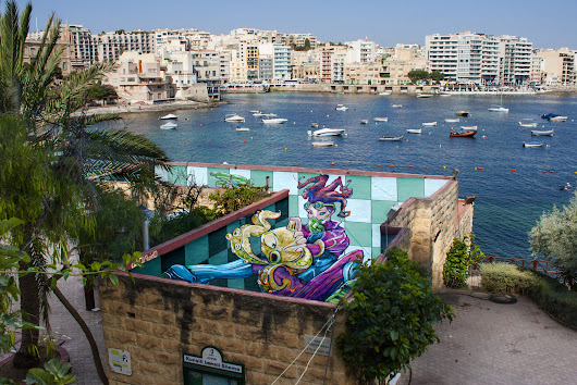 INK Roof at Sliema Street Art Festival