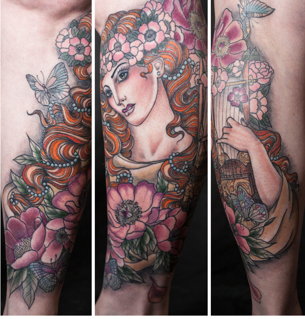 Art Nouveau Tattoo Artist Uk