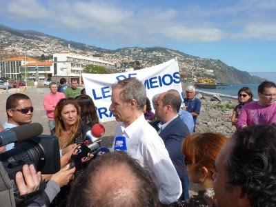 Francisco Louçã no Funchal, 27 de Fevereiro de 2011