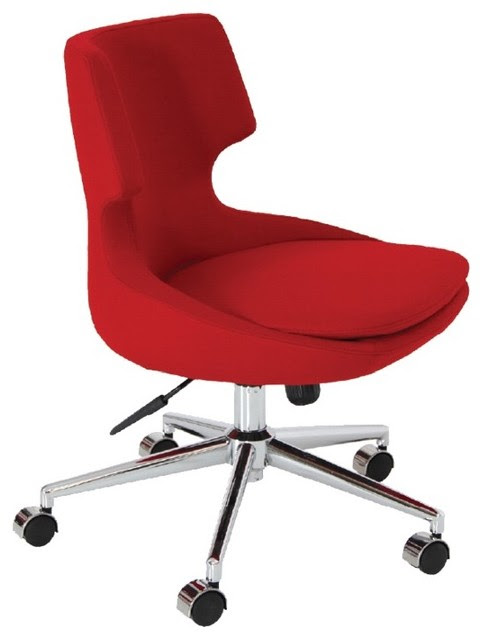 Patara Office Chair by sohoConcept - Red Wool - contemporary ...