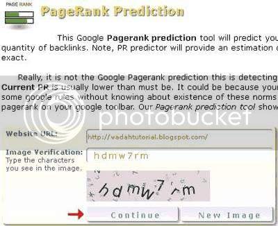 Tool Prediksi PageRank