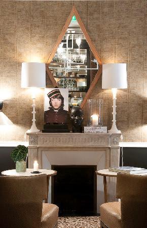 Petit salon - Picture of Hotel Recamier, Paris - TripAdvisor