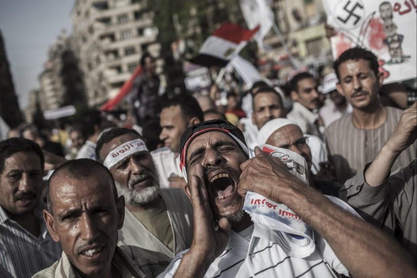 Protestas contra el gobierno egipcio