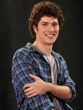 Caio Paduan interpreta o sensível e intuitivo Gabriel (Foto: Alex Carvalho/ TV Globo)