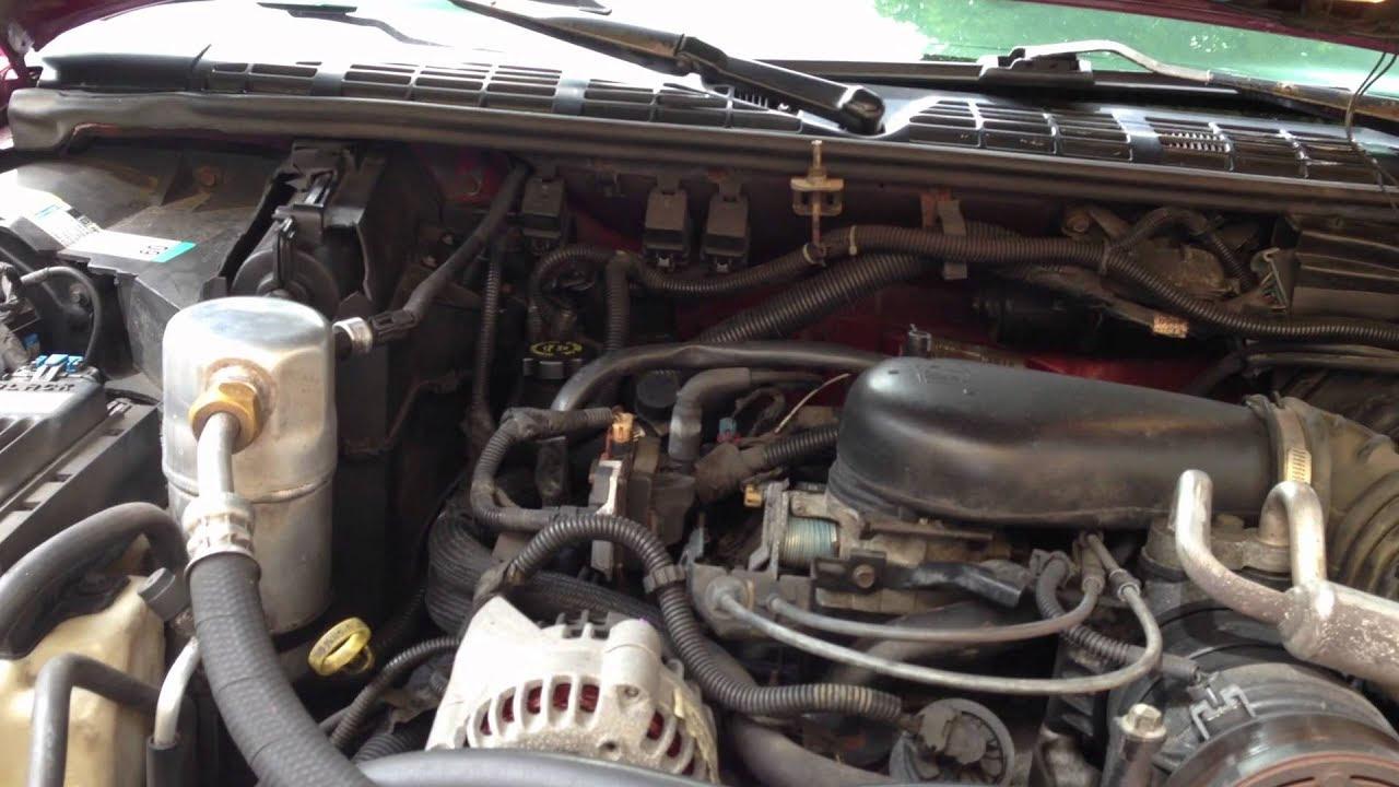 98 Chevy Blazer Fuel Gauge Wiring