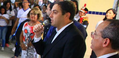 Declaração foi dada após a abertura do ano letivo da rede pública de educação / Foto: Roberto Pereira/SEI