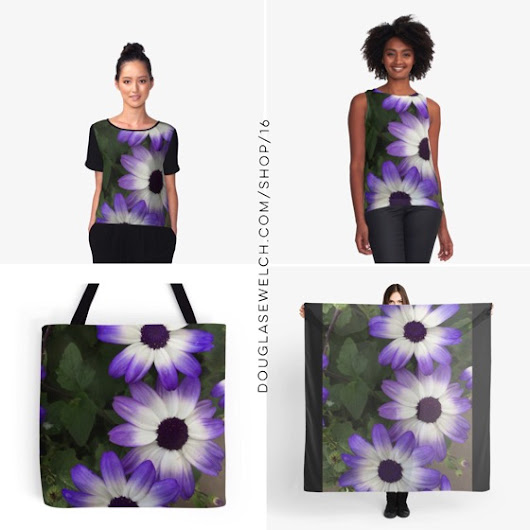 "My Word with Douglas E. Welch » Get and Gift these ""Purple & White"" Tops, Totes, Scarves, iPhone Cases, Laptop Sleeves and Much More!"