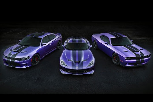2016 Dodge Challenger and Charger SRT Hellcat Add Performance Stripes | Edmunds.com