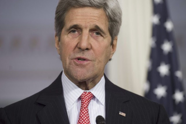 John Kerry... (PHOTO SAUL LOEB, AFP)