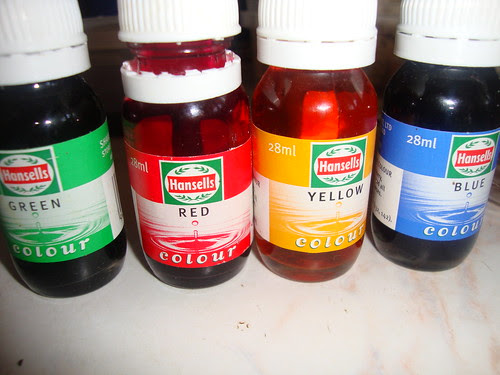artificial food colourings