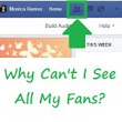 Why Can't I See All My Fans? » Monica Ramos