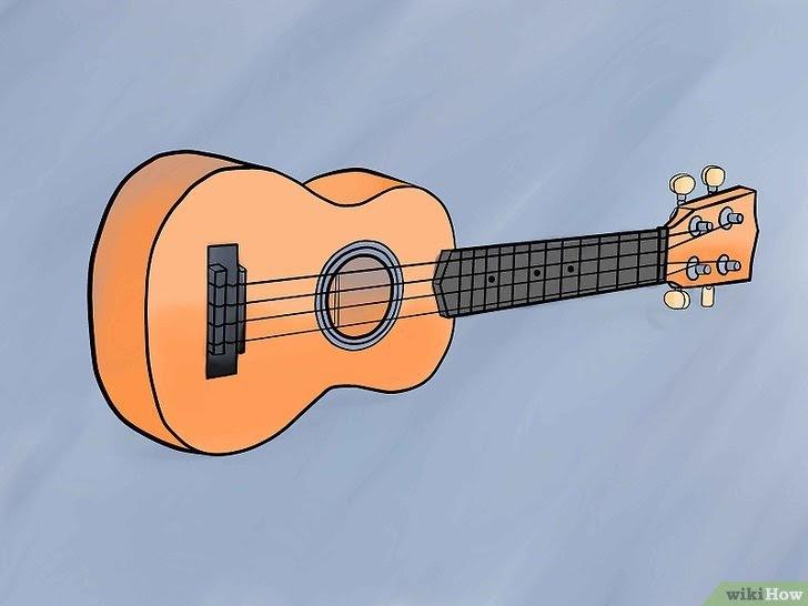 Gambar Gitar Ukulele Senar 3 - Gambar Gitar