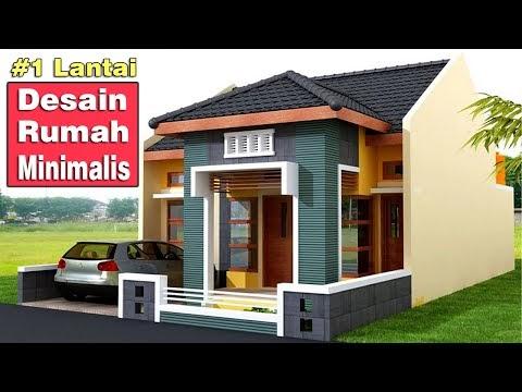 best desain rumah minimalis modern 1 lantai, video desain