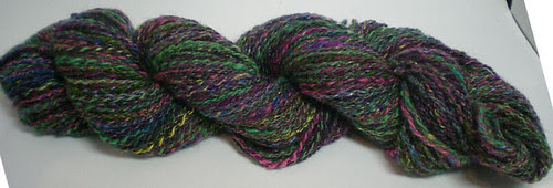 Rainbow at Midnight handspun
