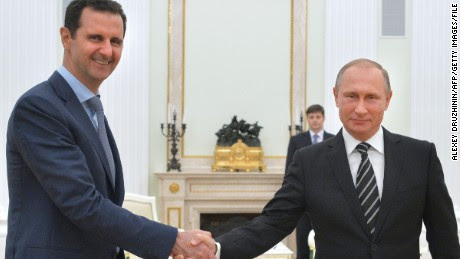 Putin and Assad meet to discuss campaign in Syria
