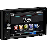 """Boss Audio Bv9351b 6.2"""" Double-DIN In-Dash Dvd-mp3-cd & AM-FM Receiver with Bluetooth"""
