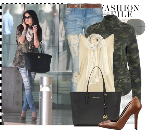 """""""The Camo Jacket"""" by queenranya ❤ liked on Polyvore"""
